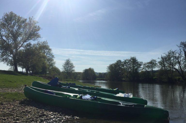 gites du moulin de poil location canoe